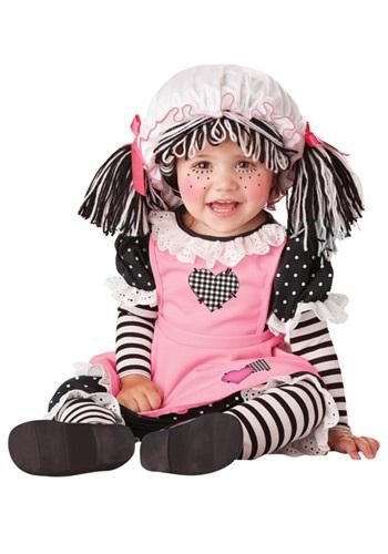 【ポイント最大29倍●お買い物マラソン限定!エントリー】赤ちゃん 新生児 Rag Doll コスチューム ハロウィン 子ども コスプレ 衣装 仮装 こども イベント 子ども パーティ ハロウィーン 学芸会
