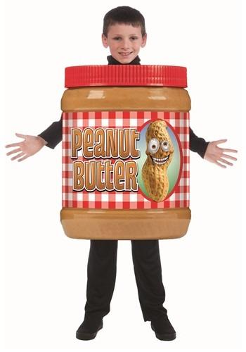 チャイルド Peanut Butter Jar コスチューム クリスマス ハロウィン 子ども コスプレ 衣装 仮装 こども イベント 子ども パーティ ハロウィーン 学芸会