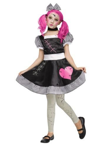 Scary Doll コスチューム for 女の子 クリスマス ハロウィン 子ども コスプレ 衣装 仮装 こども イベント 子ども パーティ ハロウィーン 学芸会