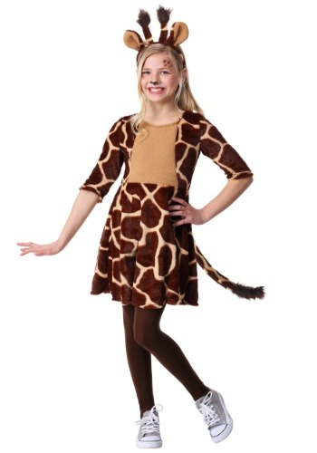 【ポイント最大29倍●お買い物マラソン限定!エントリー】Girls Giraffe コスチューム ハロウィン 子ども コスプレ 衣装 仮装 こども イベント 子ども パーティ ハロウィーン 学芸会