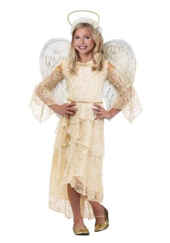 ガールズ Angel コスチューム クリスマス ハロウィン 子ども コスプレ 衣装 仮装 こども イベント 子ども パーティ ハロウィーン 学芸会