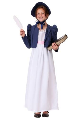 Jane Austen コスチューム for 女の子 クリスマス ハロウィン 子ども コスプレ 衣装 仮装 こども イベント 子ども パーティ ハロウィーン 学芸会