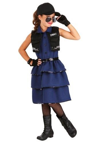 ガールズ SWAT Officer コスチューム クリスマス ハロウィン 子ども コスプレ 衣装 仮装 こども イベント 子ども パーティ ハロウィーン 学芸会