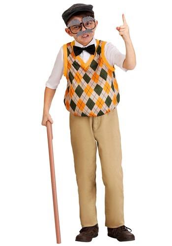 【ポイント最大29倍●お買い物マラソン限定!エントリー】チャイルド Old Man コスチューム ハロウィン 子ども コスプレ 衣装 仮装 こども イベント 子ども パーティ ハロウィーン 学芸会