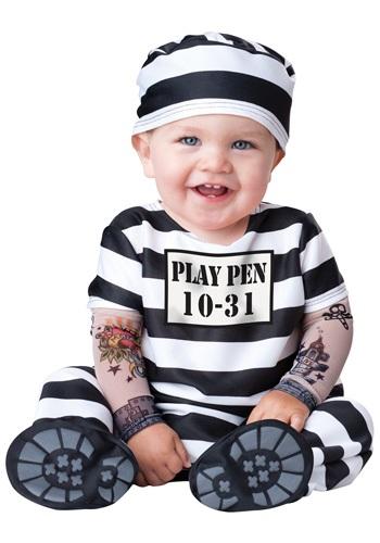 赤ちゃん 新生児 Time Out Prisoner コスチューム クリスマス ハロウィン 子ども コスプレ 衣装 仮装 こども イベント 子ども パーティ ハロウィーン 学芸会
