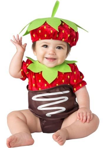 【ポイント最大29倍●お買い物マラソン限定!エントリー】Infant's Chocolate Strawberry コスチューム ハロウィン 子ども コスプレ 衣装 仮装 こども イベント 子ども パーティ ハロウィーン 学芸会