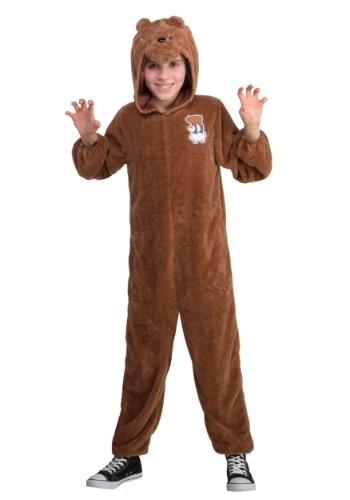 We Bare Bears Grizz Bear Kid コスチューム クリスマス ハロウィン 子ども コスプレ 衣装 仮装 こども イベント 子ども パーティ ハロウィーン 学芸会