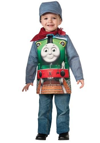 Thomas and Friends Percy デラックス 幼児 コスチューム クリスマス ハロウィン 子ども コスプレ 衣装 仮装 こども イベント 子ども パーティ ハロウィーン 学芸会