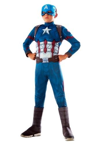 【ポイント最大29倍●お買い物マラソン限定!エントリー】キッズ Captain America デラックス コスチューム ハロウィン 子ども コスプレ 衣装 仮装 こども イベント 子ども パーティ ハロウィーン 学芸会