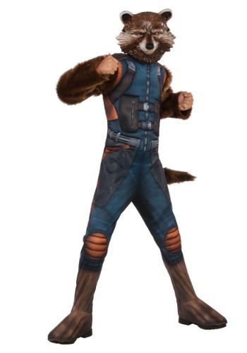 【ポイント最大29倍●お買い物マラソン限定!エントリー】デラックス Rocket Raccoon コスチューム for キッズ ハロウィン 子ども コスプレ 衣装 仮装 こども イベント 子ども パーティ ハロウィーン 学芸会