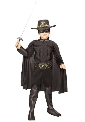 【ポイント最大29倍●お買い物マラソン限定!エントリー】キッズ デラックス Zorro コスチューム ハロウィン 子ども コスプレ 衣装 仮装 こども イベント 子ども パーティ ハロウィーン 学芸会