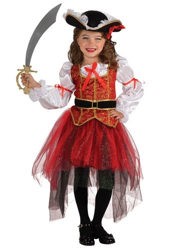 Girls Princess Sea 海賊 パイレーツ コスチューム クリスマス ハロウィン 子ども コスプレ 衣装 仮装 こども イベント 子ども パーティ ハロウィーン 学芸会