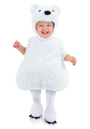 Polar Bear 幼児 コスチューム クリスマス ハロウィン 子ども コスプレ 衣装 仮装 こども イベント 子ども パーティ ハロウィーン 学芸会