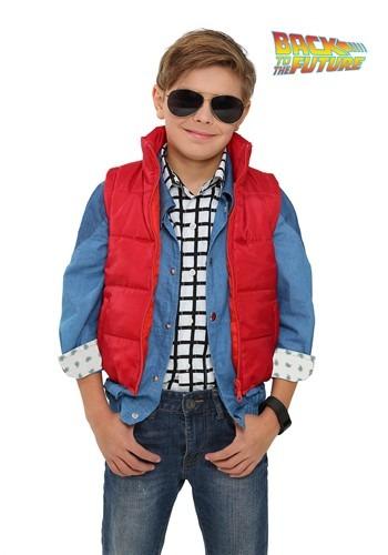 【ポイント最大29倍●お買い物マラソン限定!エントリー】Back to the Future Child Marty McFly Vest コスチューム ハロウィン 子ども コスプレ 衣装 仮装 こども イベント 子ども パーティ ハロウィーン 学芸会