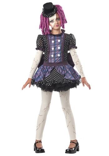 【ポイント最大29倍●お買い物マラソン限定!エントリー】Girls Broken Doll コスチューム ハロウィン 子ども コスプレ 衣装 仮装 こども イベント 子ども パーティ ハロウィーン 学芸会