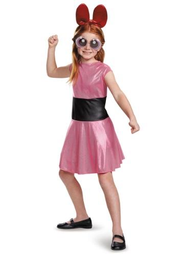 Powerpuff 女の子 チャイルド Blossom コスチューム クリスマス ハロウィン 子ども コスプレ 衣装 仮装 こども イベント 子ども パーティ ハロウィーン 学芸会