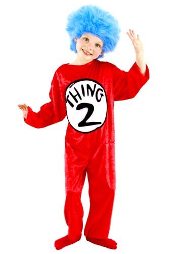 【ポイント最大29倍●お買い物マラソン限定!エントリー】Thing 1 & Thing 2 幼児 コスチューム ハロウィン 子ども コスプレ 衣装 仮装 こども イベント 子ども パーティ ハロウィーン 学芸会