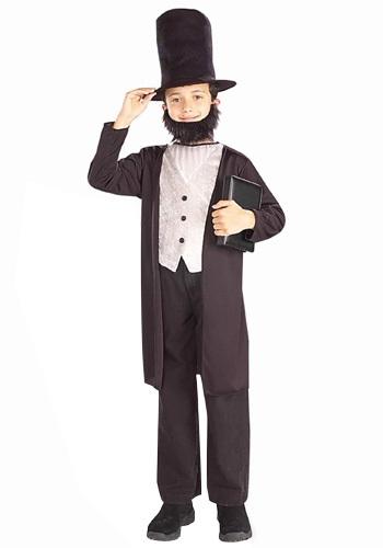チャイルド Abraham Lincoln コスチューム クリスマス ハロウィン 子ども コスプレ 衣装 仮装 こども イベント 子ども パーティ ハロウィーン 学芸会