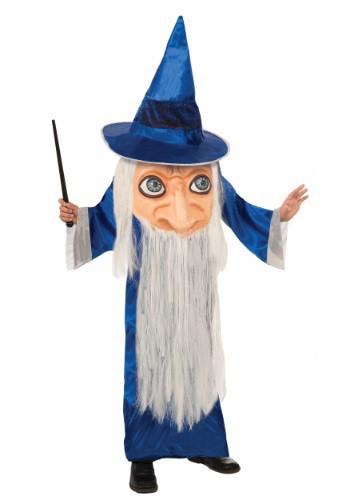 チャイルド Big Face Wizard コスチューム クリスマス ハロウィン 子ども コスプレ 衣装 仮装 こども イベント 子ども パーティ ハロウィーン 学芸会