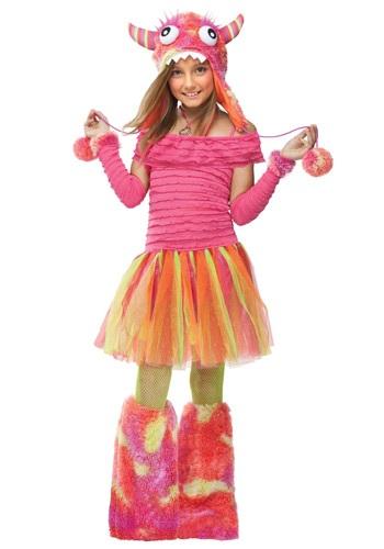 【ポイント最大29倍●お買い物マラソン限定!エントリー】Girls Wild チャイルド Monster コスチューム ハロウィン 子ども コスプレ 衣装 仮装 こども イベント 子ども パーティ ハロウィーン 学芸会