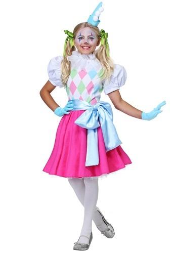 Girls Cotton Candy ピエロ コスチューム クリスマス ハロウィン 子ども コスプレ 衣装 仮装 こども イベント 子ども パーティ ハロウィーン 学芸会