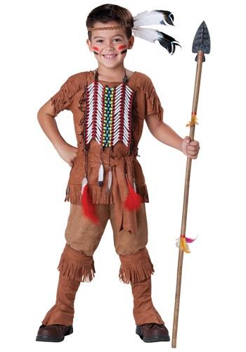 【ポイント最大29倍●お買い物マラソン限定!エントリー】チャイルド Native American Brave コスチューム ハロウィン 子ども コスプレ 衣装 仮装 こども イベント 子ども パーティ ハロウィーン 学芸会