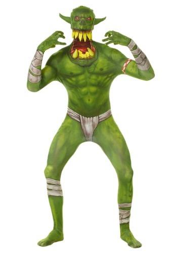 【ポイント最大29倍●お買い物マラソン限定!エントリー】キッズ Green Orc Morphsuit コスチューム ハロウィン 子ども コスプレ 衣装 仮装 こども イベント 子ども パーティ ハロウィーン 学芸会
