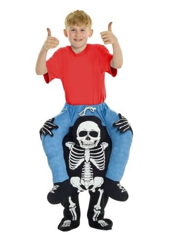 【ポイント最大29倍●お買い物マラソン限定!エントリー】Skeleton Piggyback キッズ コスチューム ハロウィン 子ども コスプレ 衣装 仮装 こども イベント 子ども パーティ ハロウィーン 学芸会
