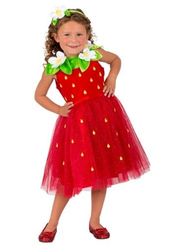 【ポイント最大29倍●お買い物マラソン限定!エントリー】ガールズ Strawberry Sweetie コスチューム ハロウィン 子ども コスプレ 衣装 仮装 こども イベント 子ども パーティ ハロウィーン 学芸会