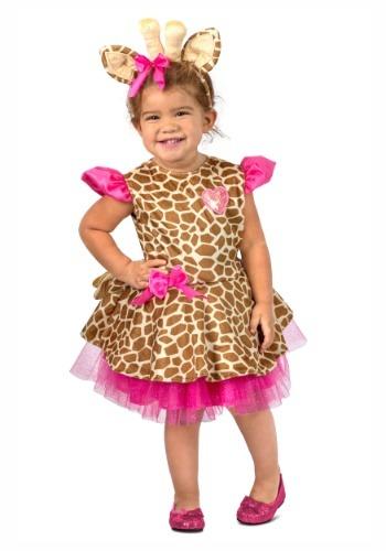 【ポイント最大29倍●お買い物マラソン限定!エントリー】Toddler's Gigi Giraffe コスチューム ハロウィン 子ども コスプレ 衣装 仮装 こども イベント 子ども パーティ ハロウィーン 学芸会