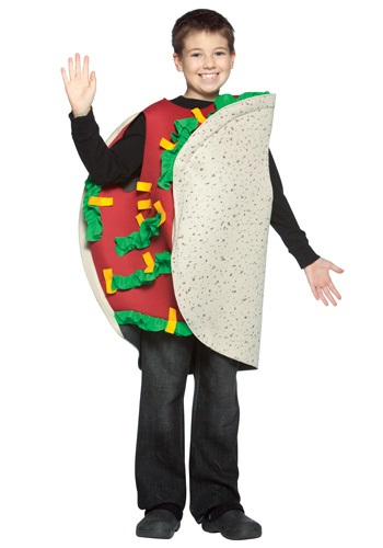 チャイルド Taco コスチューム クリスマス ハロウィン 子ども コスプレ 衣装 仮装 こども イベント 子ども パーティ ハロウィーン 学芸会