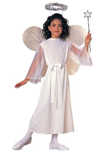 Girls Angel コスチューム クリスマス ハロウィン 子ども コスプレ 衣装 仮装 こども イベント 子ども パーティ ハロウィーン 学芸会