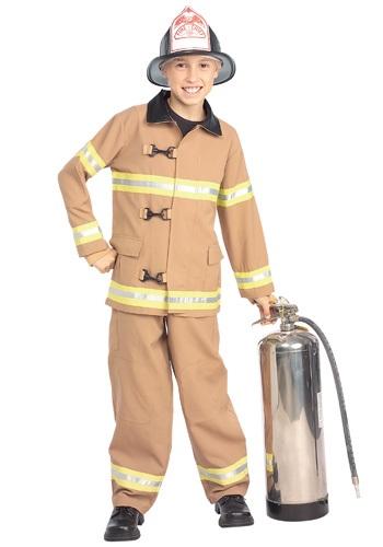 【ポイント最大29倍●お買い物マラソン限定!エントリー】チャイルド Tan Fireman コスチューム ハロウィン 子ども コスプレ 衣装 仮装 こども イベント 子ども パーティ ハロウィーン 学芸会