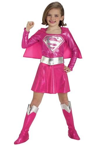 【ポイント最大29倍●お買い物マラソン限定!エントリー】チャイルド ピンク Super女の子 コスチューム ハロウィン 子ども コスプレ 衣装 仮装 こども イベント 子ども パーティ ハロウィーン 学芸会