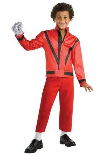 チャイルド Red Thriller Jacket コスチューム クリスマス ハロウィン 子ども コスプレ 衣装 仮装 こども イベント 子ども パーティ ハロウィーン 学芸会