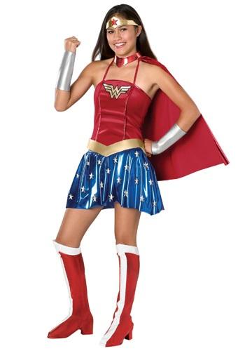 【ポイント最大29倍●お買い物マラソン限定!エントリー】Wonder Woman 少年 少女 コスチューム ハロウィン 子ども コスプレ 衣装 仮装 こども イベント 子ども パーティ ハロウィーン 学芸会