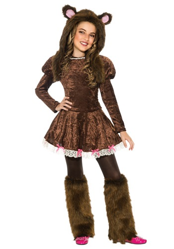 【ポイント最大29倍●お買い物マラソン限定!エントリー】Beary Adorable 女の子 コスチューム ハロウィン 子ども コスプレ 衣装 仮装 こども イベント 子ども パーティ ハロウィーン 学芸会