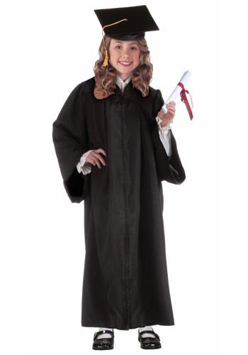 チャイルド ブラック Graduation ローブ コスチューム クリスマス ハロウィン 子ども コスプレ 衣装 仮装 こども イベント 子ども パーティ ハロウィーン 学芸会