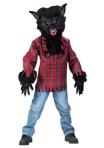 【ポイント最大29倍●お買い物マラソン限定!エントリー】チャイルド ブラック Werewolf コスチューム ハロウィン 子ども コスプレ 衣装 仮装 こども イベント 子ども パーティ ハロウィーン 学芸会