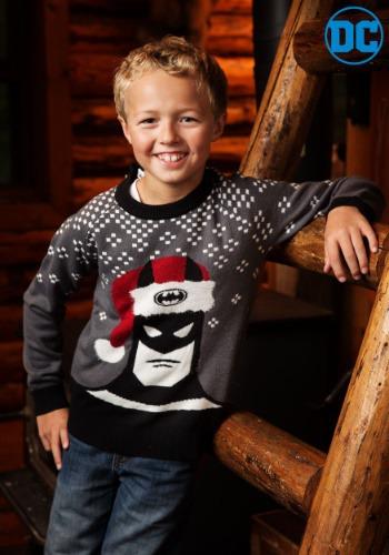 【ポイント最大29倍●お買い物マラソン限定!エントリー】バットマン Holiday Hat キッズ Ugly Christmas Sweater ハロウィン 子ども コスプレ 衣装 仮装 こども イベント 子ども パーティ ハロウィーン 学芸会
