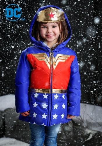 【ポイント最大29倍●お買い物マラソン限定!エントリー】Girls Wonder Woman Puffer Coat ハロウィン 子ども コスプレ 衣装 仮装 こども イベント 子ども パーティ ハロウィーン 学芸会