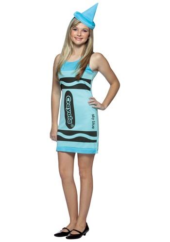 少年 少女 Sky Blue Crayon Dress コスチューム クリスマス ハロウィン 子ども コスプレ 衣装 仮装 こども イベント 子ども パーティ ハロウィーン 学芸会