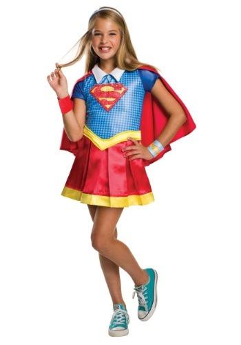 【ポイント最大29倍●お買い物マラソン限定!エントリー】DC Superhero 女の子 Super女の子 デラックス コスチューム ハロウィン 子ども コスプレ 衣装 仮装 こども イベント 子ども パーティ ハロウィーン 学芸会