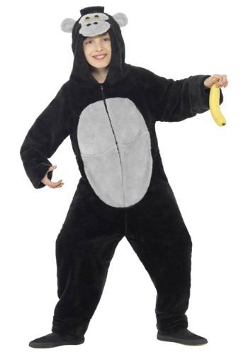 Gorilla コスチューム for キッズ クリスマス ハロウィン 子ども コスプレ 衣装 仮装 こども イベント 子ども パーティ ハロウィーン 学芸会