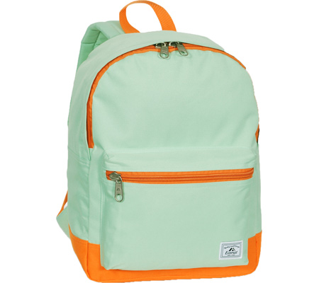 b8d1e935f2f0 エベレスト Everest Two-Tone Classic Backpack - Jade Orange バッグ 鞄 かばん バックパック  リュックサック 忠実に再現