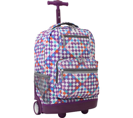 JWorld New York Sunset Rolling Backpack - Checkmate バッグ 鞄 かばん バックパック リュックサック