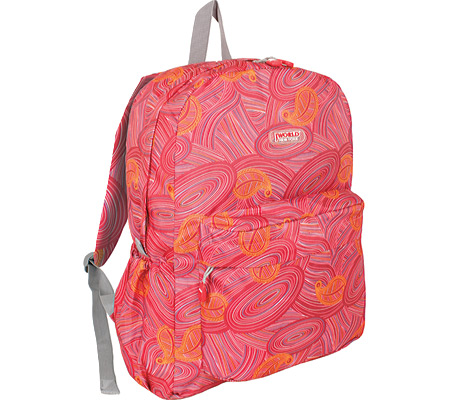 JWorld New York Oz Laptop Backpack - Paisley バッグ 鞄 かばん バックパック リュックサック