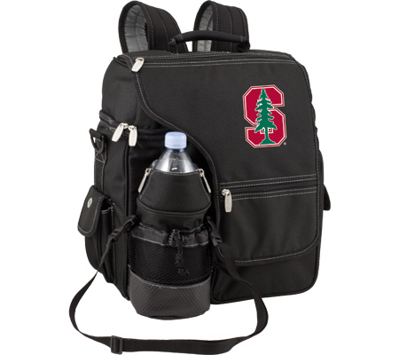 Picnic Time Turismo Stanford Cardinal Embroidered - Black バッグ 鞄 かばん バックパック リュックサック