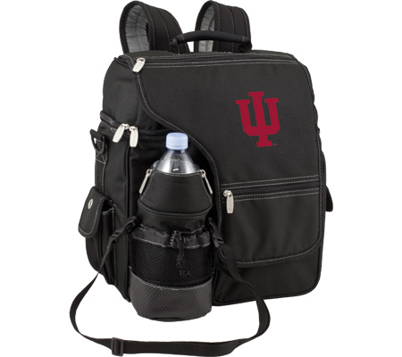 Picnic Time Turismo Indiana University Hoosiers Embroidered - Black バッグ 鞄 かばん バックパック リュックサック