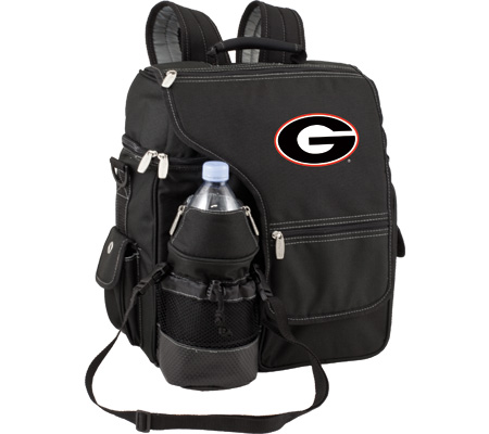 Picnic Time Turismo Georgia Bulldogs Embroidered - Black バッグ 鞄 かばん バックパック リュックサック